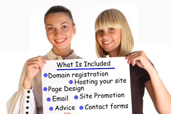 Domain registration - Hosting - Page design - email - site promotion - contact forms - advice.